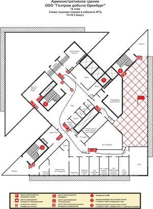 Оперативный План Пожаротушения Для Предприятия Образец - фото 6